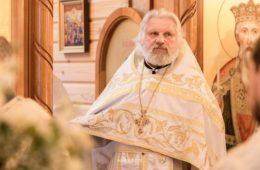 Поздравление архиепископа Подольского Тихона протоиерею Петру Пахолкову с 20-летием пресвитерской хиротонии